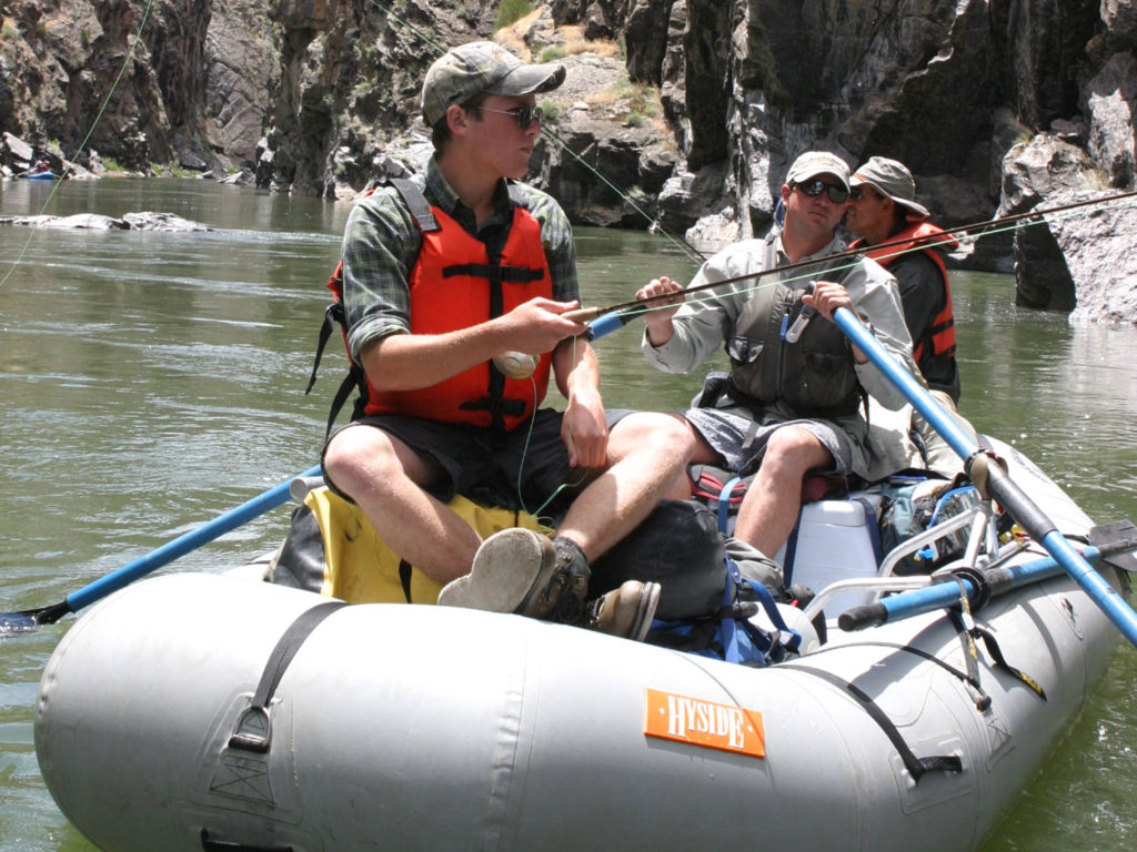 Gunnison river expeditions guided fly fishing for Gunnison river fly fishing