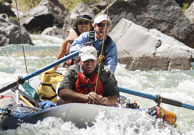 Fly fishing the Black Canyon of the Gunnison