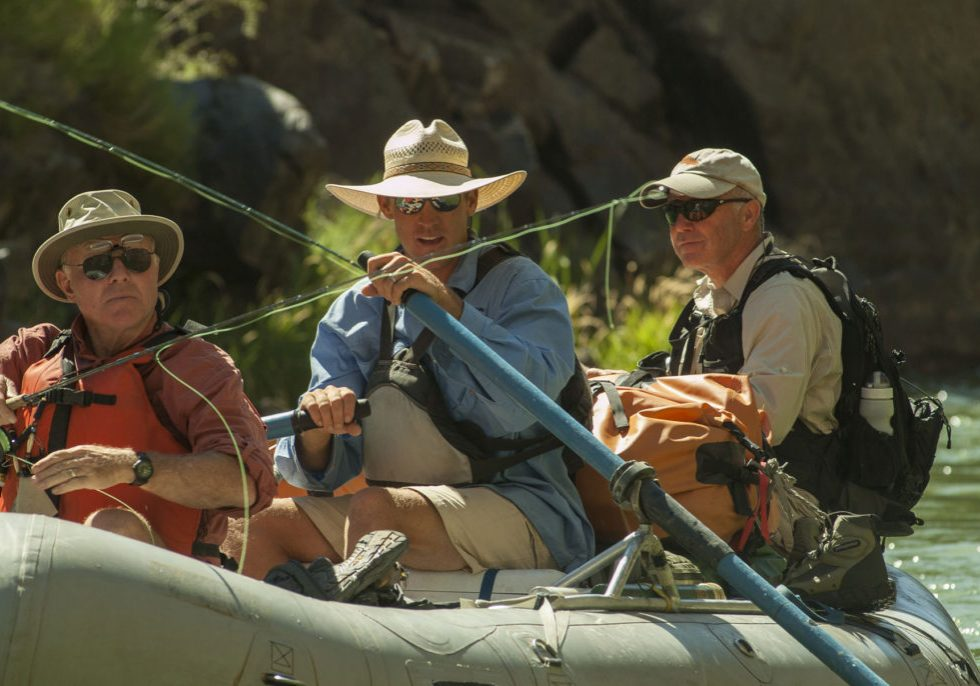 Gunnison River Expeditions fly fishing guides